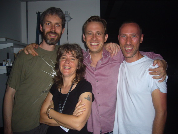Sarah Washington, Knut Aufermann, Tobi Maier, Leandro Nerefuh
