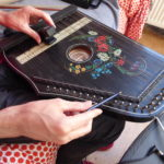 CWCH #14 Mobile Radio activating old Ebow and East German zither