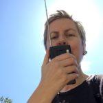 CWCH #4 Anna Friz and her walkie talkie