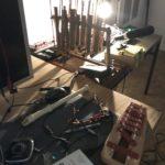 CWCH #9 Frauke Berg setup