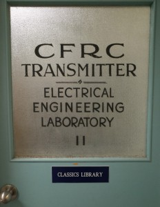 CFRC - on air since 1922
