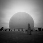 CWCH #4 pinhole camera print developed during show by Pierre Metzinger