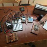 CWCH #1 Anna Friz setup