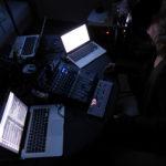 CWCH#2 Sarah Washington & Knut Aufermann mixing in the dark